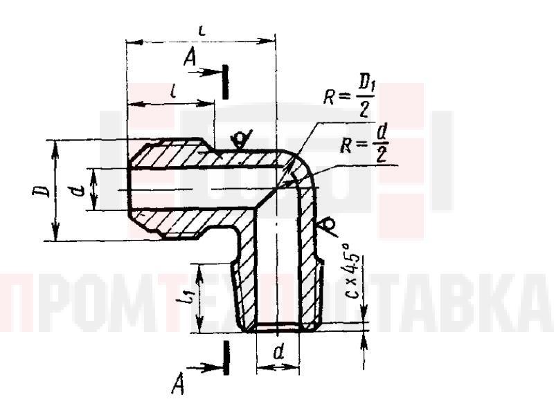 ГОСТ 13970-74 Угольники ввертные для соединений трубопроводов по наружному конусу
