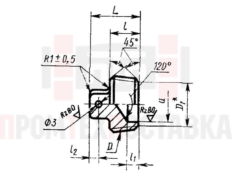 ГОСТ 13974-74 Заглушки гнезд под ввертную арматуру для соединений трубопроводов по наружному конусу