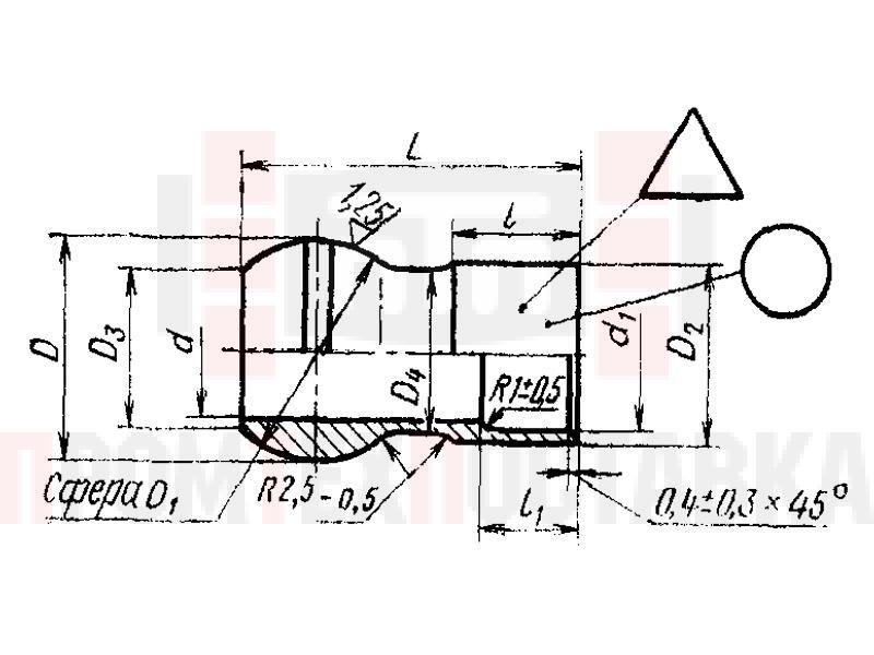 ГОСТ 16041-70 Ниппели сферические припайные для соединений трубопроводов по внутреннему конусу