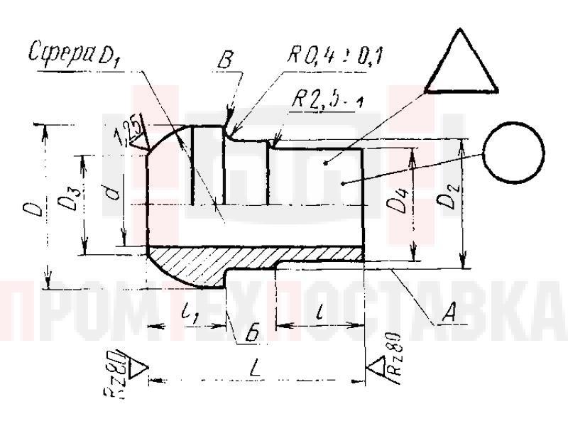 ГОСТ 16042-70 Ниппели полусферические приварные для соединений трубопроводов по внутреннему конусу