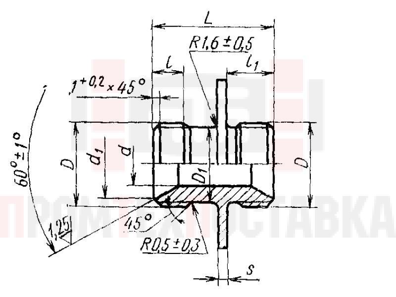 ГОСТ 16051-70 Проходники фланцевые для соединений трубопроводов по внутреннему конусу