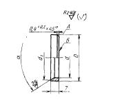 ГОСТ 16048-70 Кольца упорные для соединений трубопроводов по внутреннему конусу.