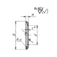 ГОСТ 16069-70 Шайбы для соединений трубопроводов по внутреннему конусу. Конструкция и размеры
